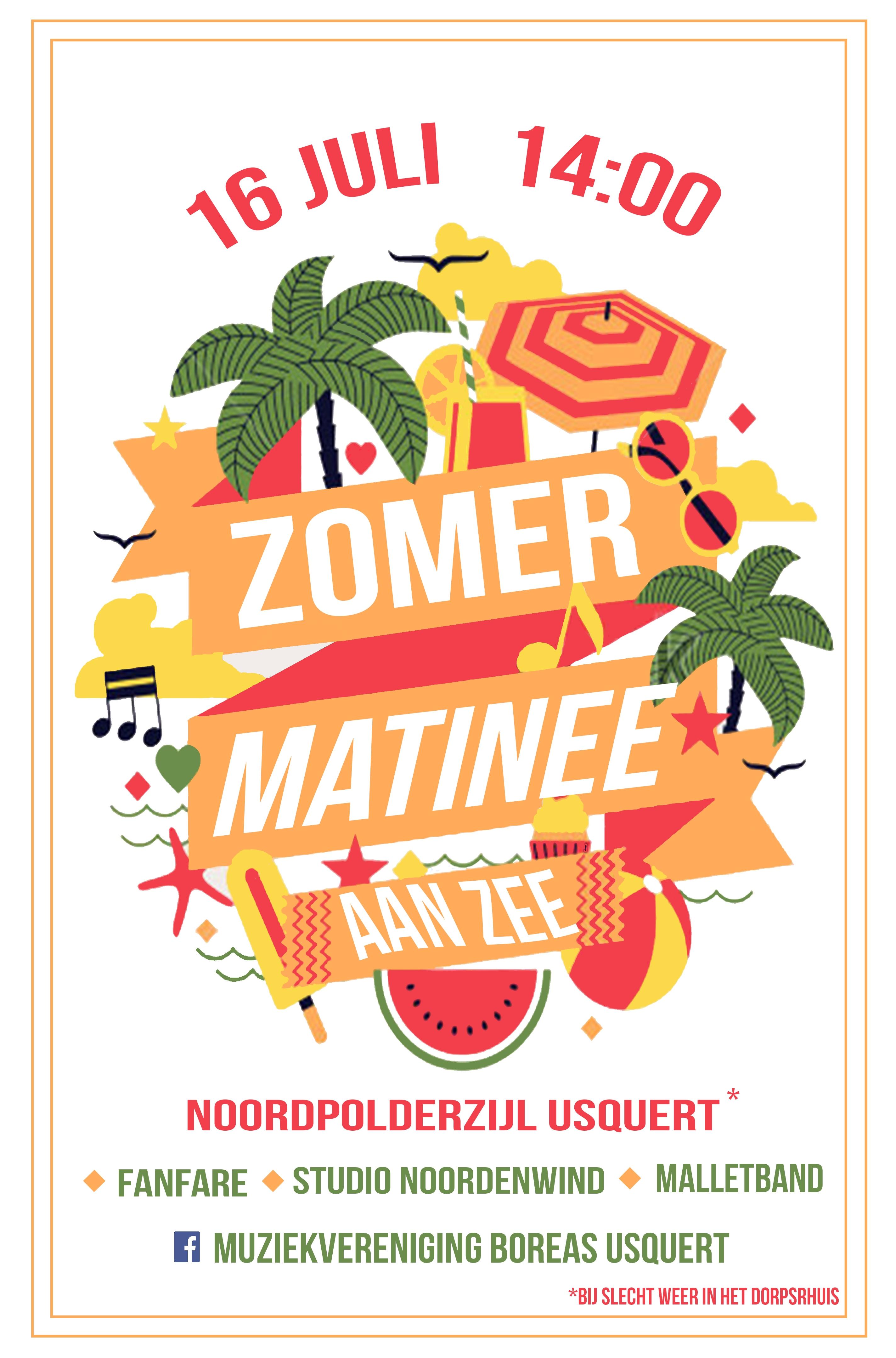 Zomer Matinee aan Zee @ Café 't Zielhoes | Usquert | Groningen | Nederland